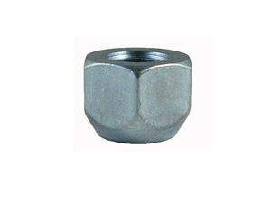 "Open End Acorn Lug Nut 1/2"" Thread 3/4"" Hex"