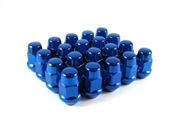 "Bulge Acorn Lug Nut 7/16"" Blue"
