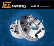 3x112 to 4x100 wheel adapters