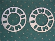 4 & 5 Lug 3mm Thick Spacer (Pair)