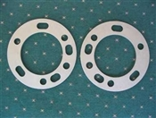 "5 & 6 Lug Spacer 1/4"" Thick (Pair)"
