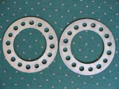 "8 Lug 1/2"" Thick Spacer 6.5"", 170mm, 180mm (Pair)"