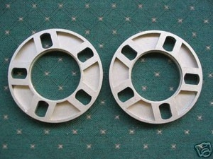 "5 x 108-127 Spacer 1/2"" Thick (Pair)"