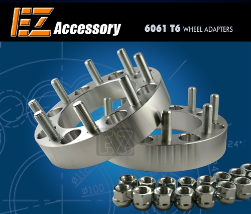 Wheel Adapter 8 Lug 210 To 8 Lug 210 (Pair) Chevy Dually