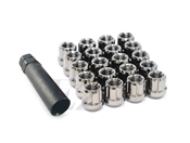 Spline Drive Open End Tuner Lug Nuts 7/16""