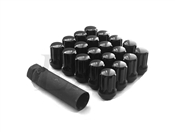 Spline Drive Tuner Lug Nuts 14x1.5 Black