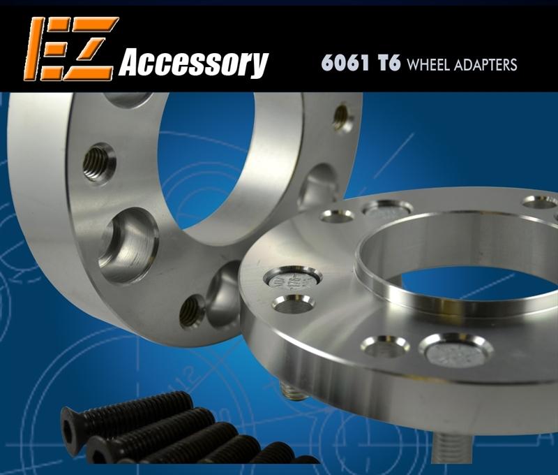 2 Piece Wheel Adapter Bolt Connector