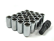 Chrome Acorn Tuner Lug Nuts 12x1.5