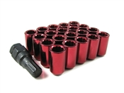 Red Acorn Tuner Lug Nuts 12x1.25
