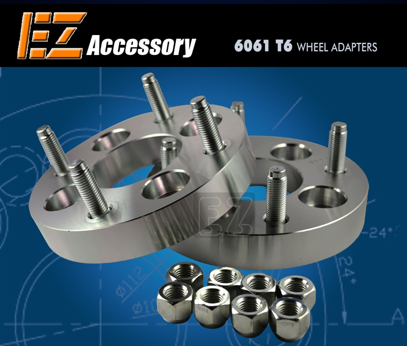 Wheel Spacers 4x98 To 4x100 Spacers Fiat
