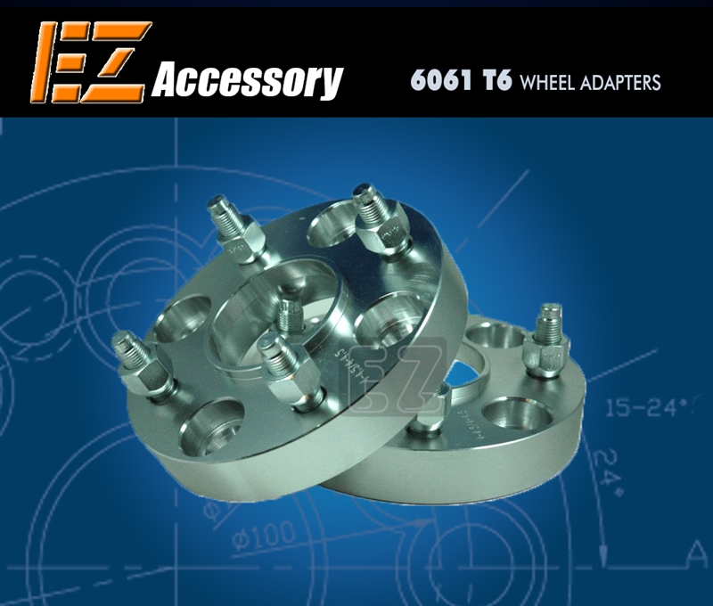 2 Pieces 1 25mm Lug Centric Conversion Wheel Spacers Adapters Bolt Pattern 4x114.3 4x4.5 to 4x100 Center Bore 71mm 12mm x 1.5 Studs