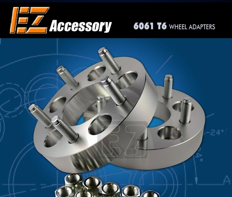 "2 Wheel Adapters 5 Lug 100 To 5 Lug 100 Spacers 1.5/"""