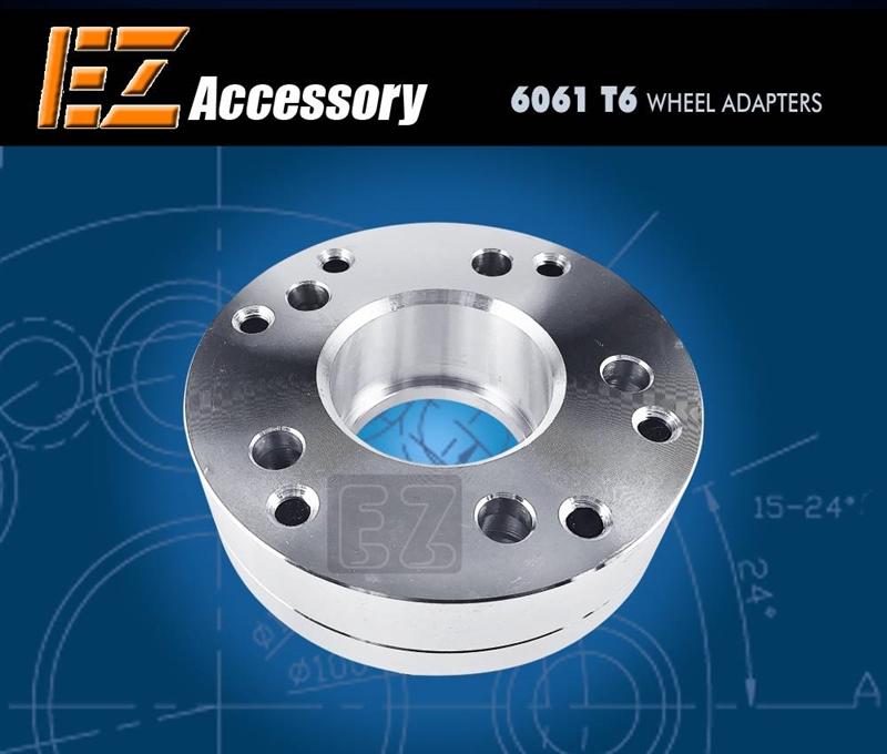 Thickness 2 inch 6x135 to 5x114.3 EZAccessory 2 Wheel Adapter 6x135 to 5x4.5