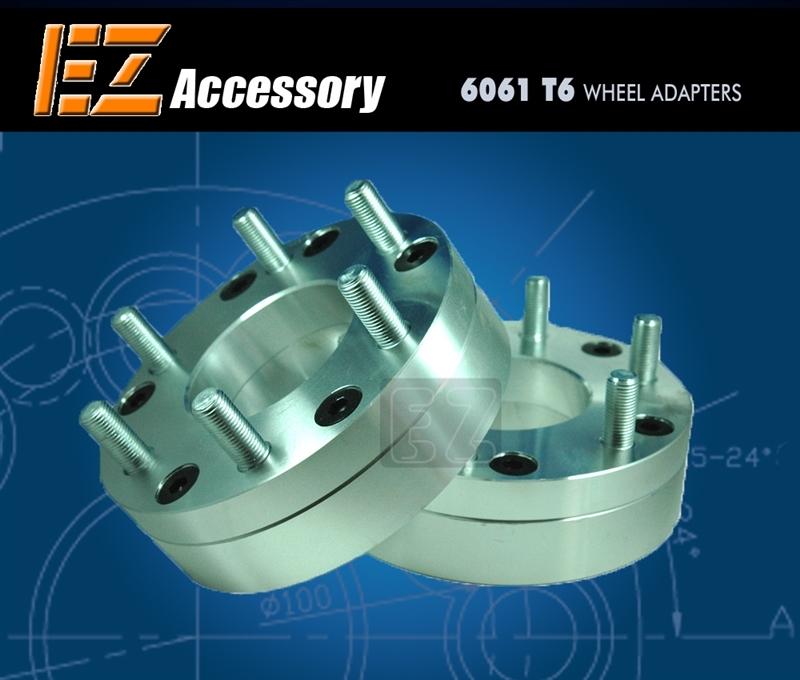 "2 Wheel Adapters 6 Lug 5.5 To 5 Lug 135 Spacers 6x5.5//5x135 2/"""