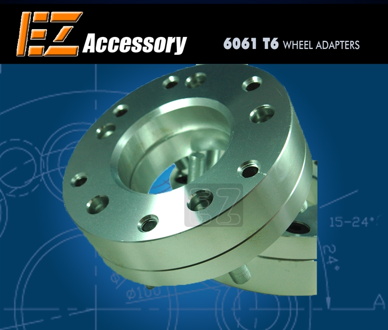 Wheel Adapter 5 Lug 4 5 To 6 Lug 5 5 Thickness 2 Pair