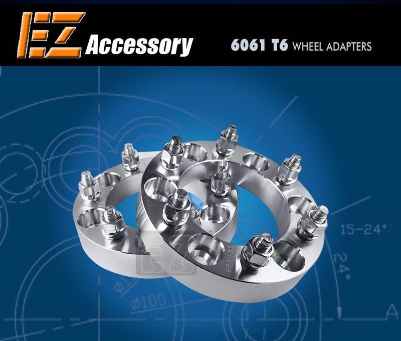 Wheel Adapter 7 Lug Custom Size (Pair)