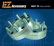 "Wheel Adapter 7 Lug 150 To 6 Lug 5.5"" Thickness 2"" (Pair)"