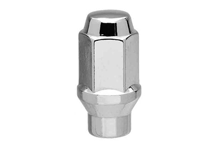 "Long ET Conical Bulge Lug Nuts 9/16"" Thread"