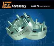 "Wheel Adapter 8 Lug 170"" To 6 Lug 5.5"" Thickness 2"" (Pair)"