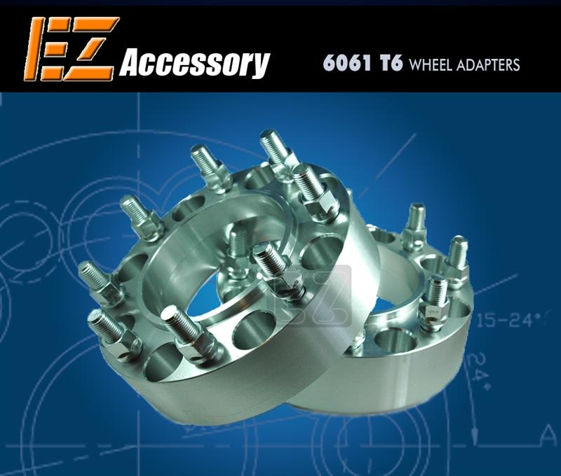 Wheel Adapter 8 Lug 170 Hub Centric Rear 99-02 (Pair)