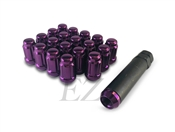 Spline Drive Tuner Lug Nuts 12x1.50 Purple