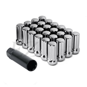 "Duplex Spline Drive Lug Nuts 1/2"" Chrome"