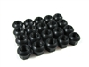 Black Porsche Ball Seat Open End Lug Nuts 14x1.5